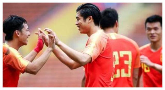 张玉宁再次为国奥进球,