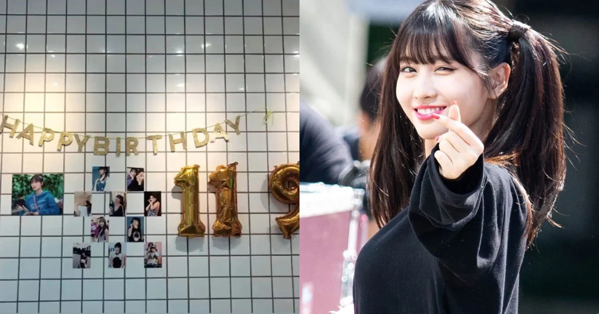 Momo平井桃的姐姐平井波奈用最可爱的方式来庆祝Momo的生日