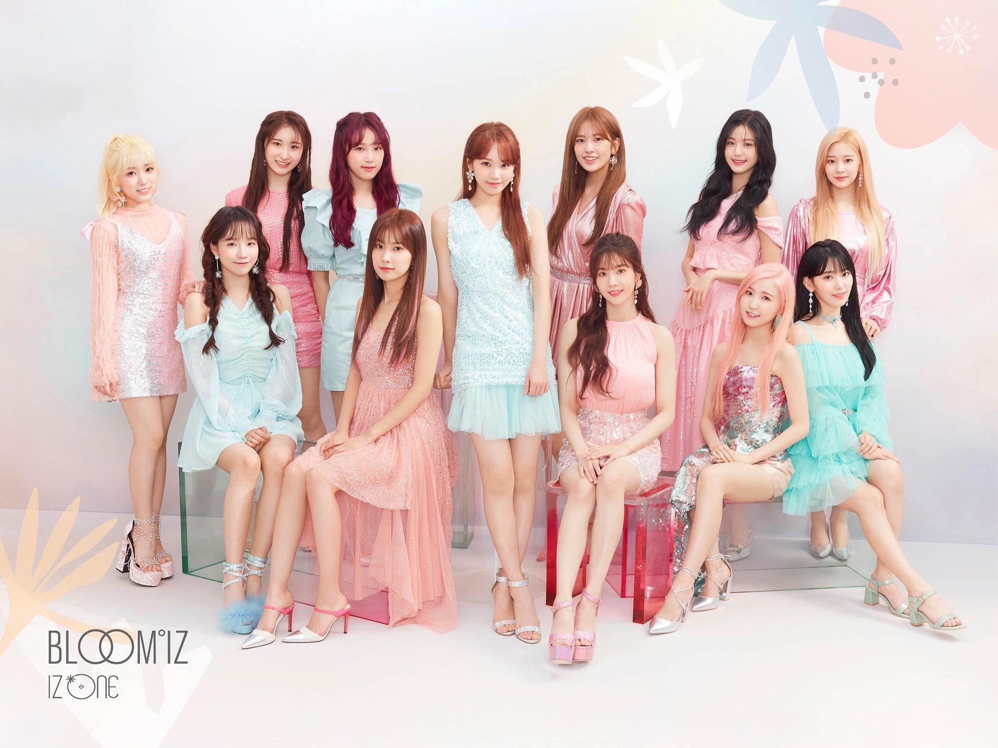 IZ*ONE从清纯到魅惑的魅力为了新专辑的发售公开了完整的官方照片