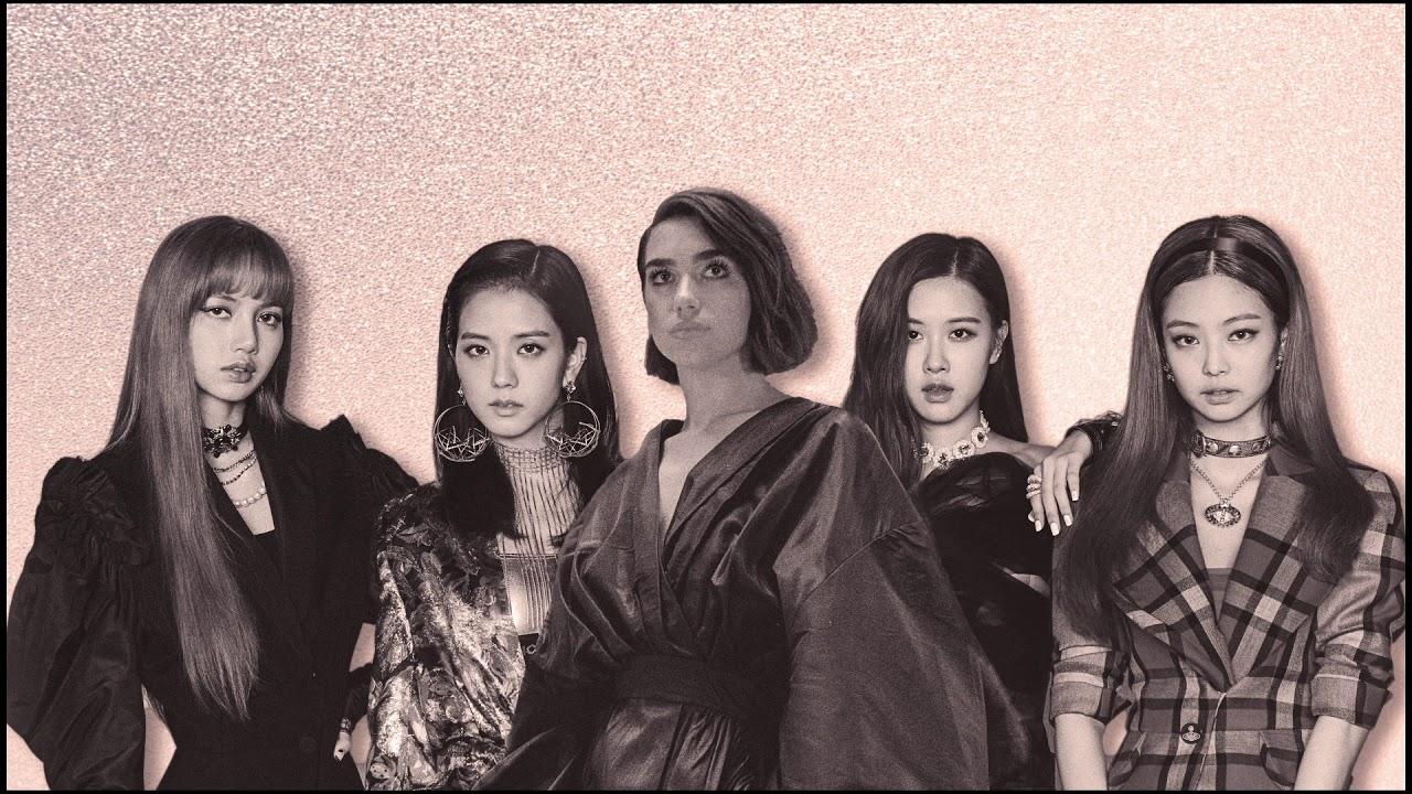 BLACKPINK的金智妮对歌手杜阿·利帕示爱