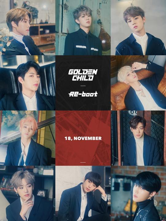 Golden Child回归将在今年11月加入的Kpop神仙打架复出阵容