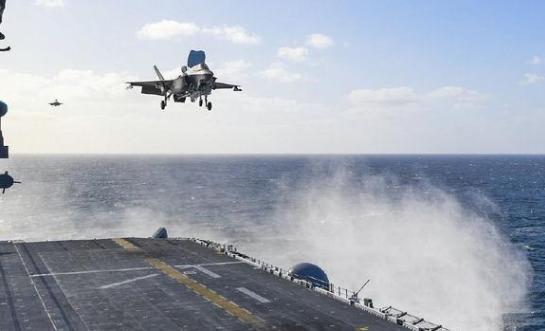 F-35B起飞吹破卫星win德赢官方,出云级准航母如果用,下场只会更凄惨