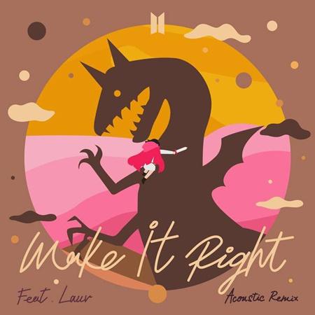 防弹少年团今天(8日)发表《Make It Right》原声版