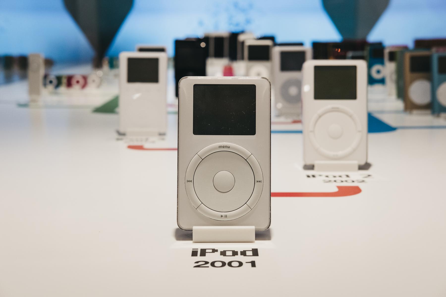 初代iPod仅仅10个月就开发成功