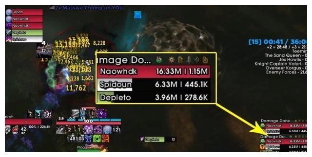 魔兽世界:100万秒伤的邪DK,伤害是如何A出来的?|伤口|天灾