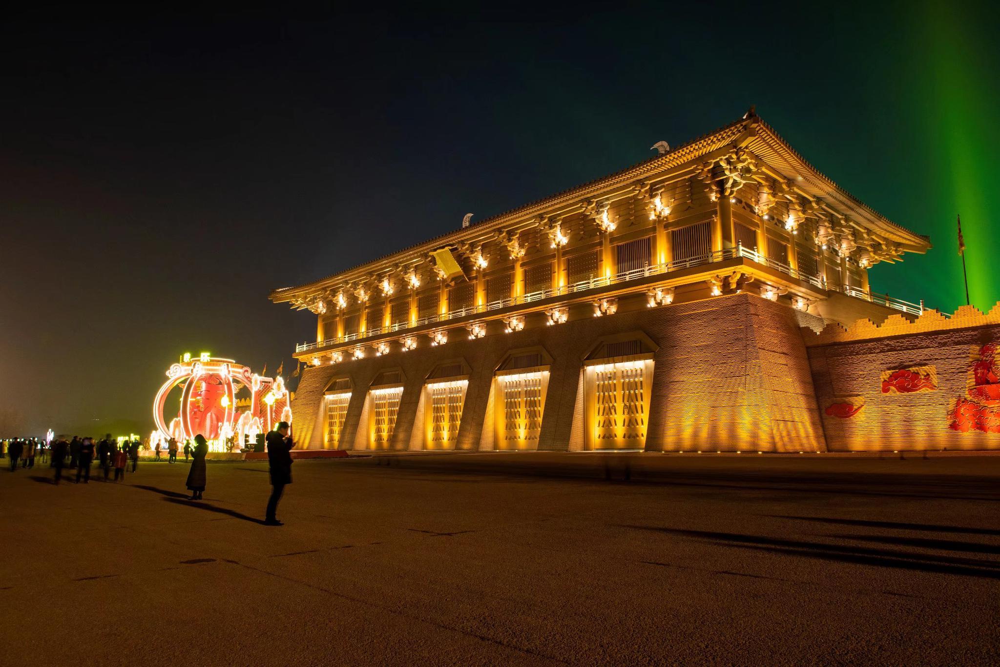 西安大明宮光影嘉年華璀璨啟幕,快來感受不一樣的視覺圖片