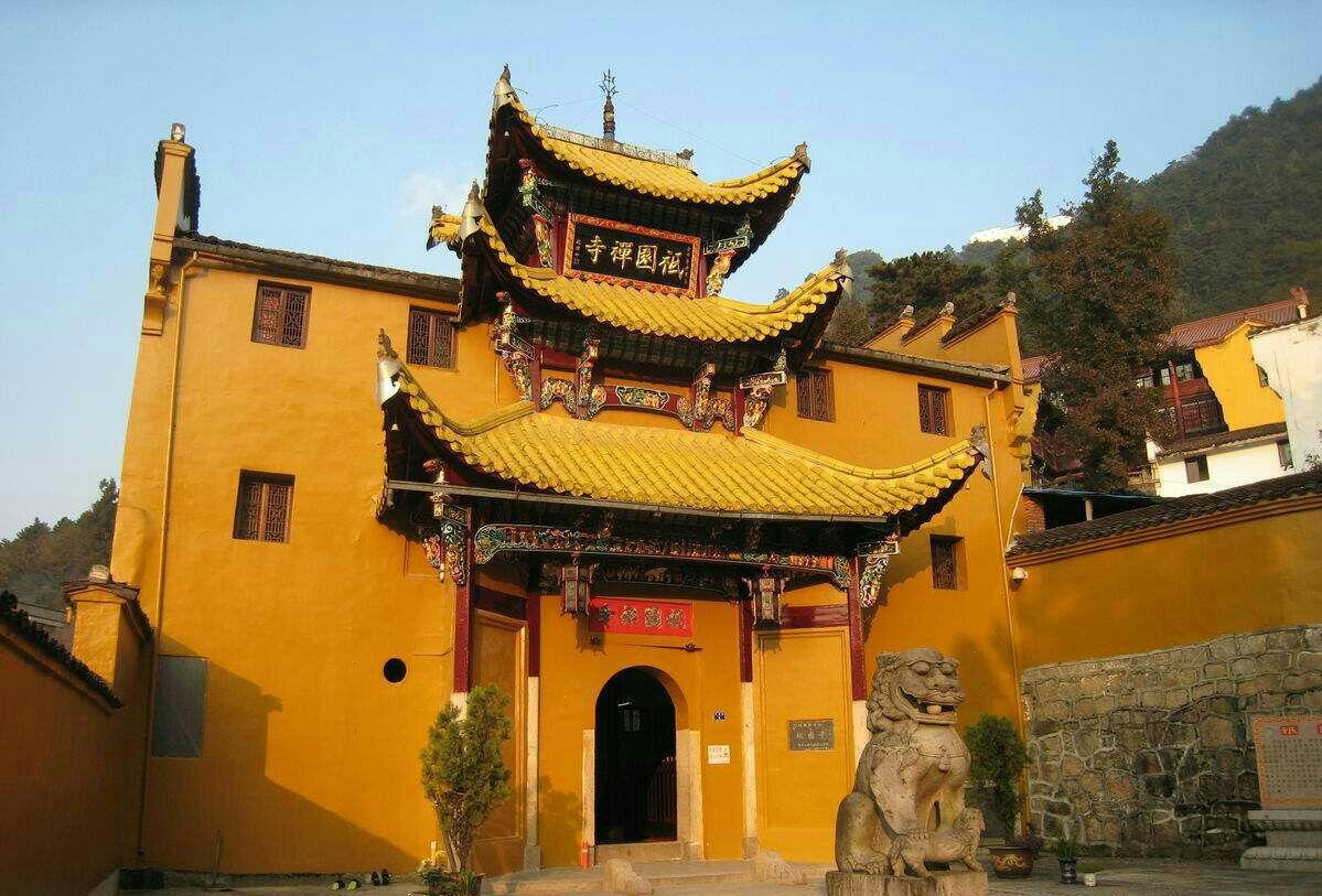 安徽香火旺盛的一座寺庙,是全国重点寺院,是九华山四大禅林之一