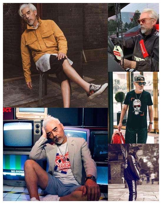 """67岁""""小鲜肉""""张双利,多年健身保持年轻态,玩转各种时尚潮流"""