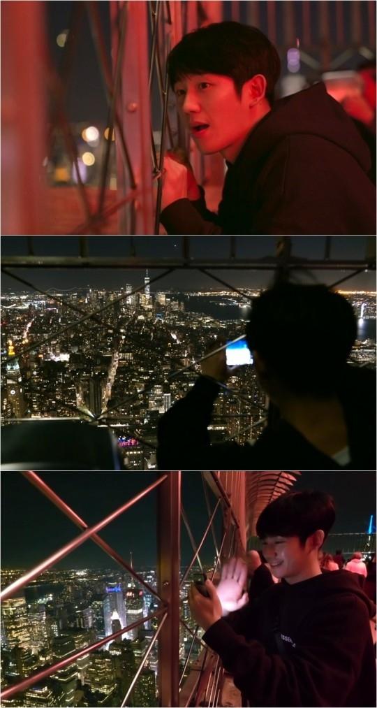 丁海寅在纽约旅行中突然给父母打电话 其理由是?