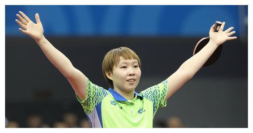 乒乓球运动员朱雨玲重新加入到东京奥运的竞争中来