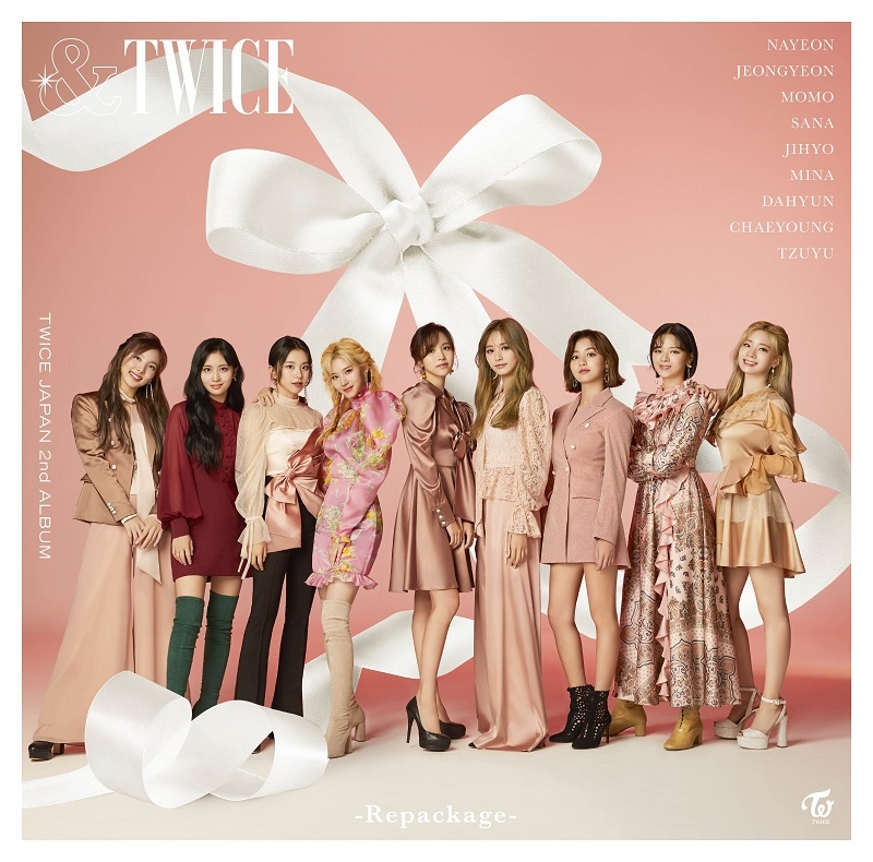 TWICE日本2nd专辑《&TWICE -Repackage-》2月5日发售决定!视觉公开成为话题
