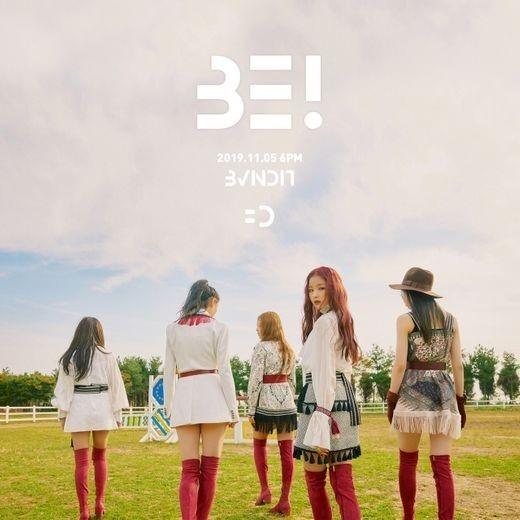 BVNDIT队11月5日复出第一张迷你专辑《BE !》发布