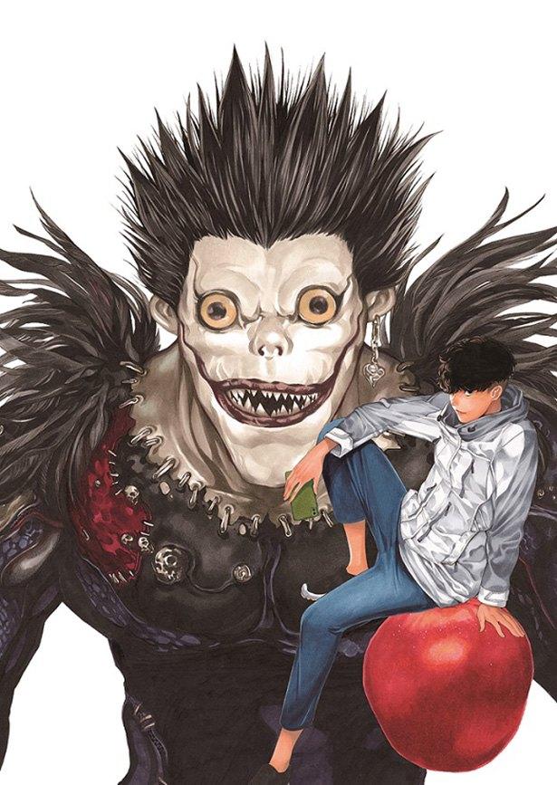 《死亡笔记》时隔12年的完全新作漫画决定刊载!小畑健创作的插图