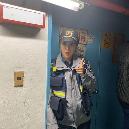 昭宥在警察走廊里 将以演员姜智贤的身份首次挑战演技