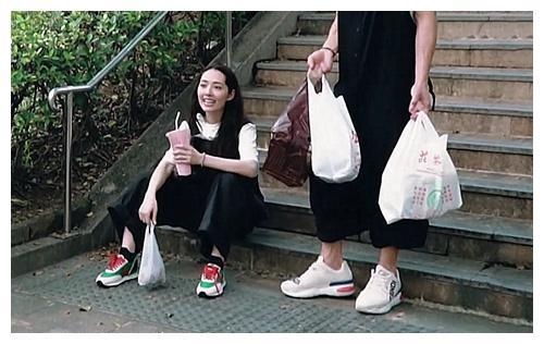 """郭碧婷的""""NIke""""火了,看到她上脚效果,网友:开创新潮流!"""