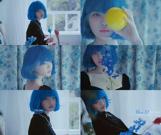 YGX所属的新人歌手Blue.D,第1张单曲《NOBODY》简介公开 梦幻般的个人秀