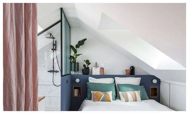 现代小卧室创意:20种节省空间的时尚卧室设计