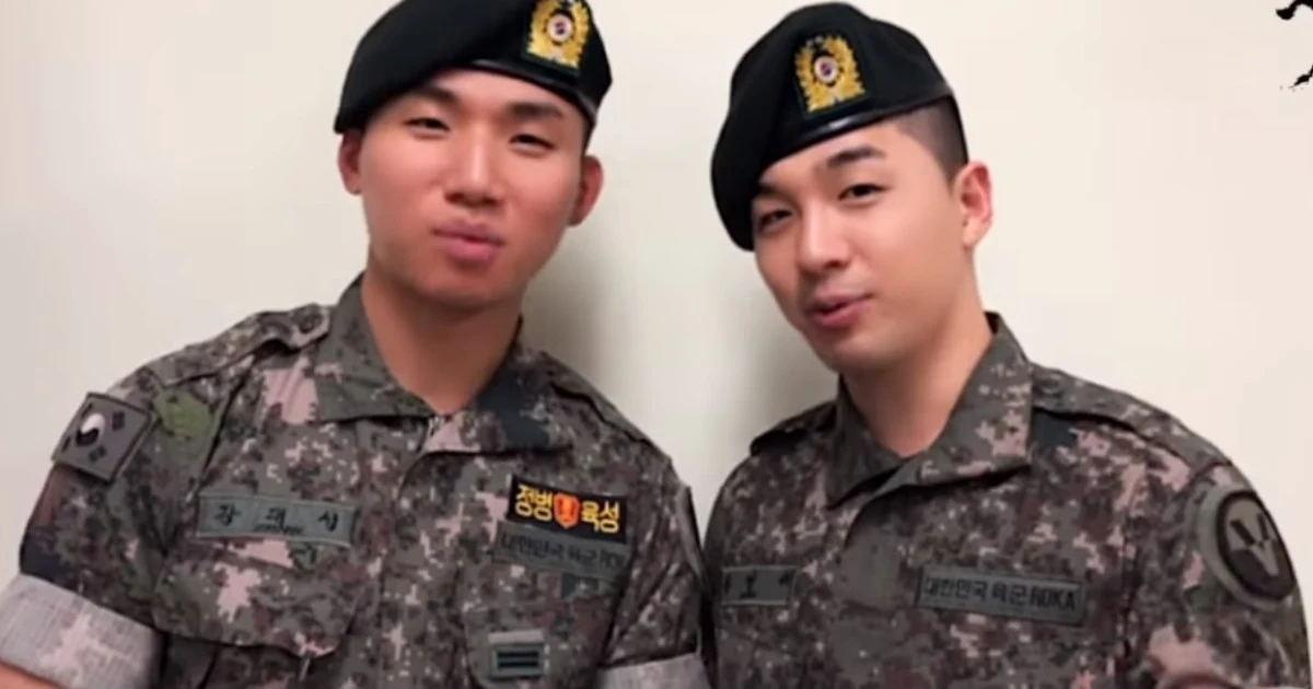 YG娱乐更新了BIGBANG东永裴和姜大成的退伍消息 要求请粉丝不要访问