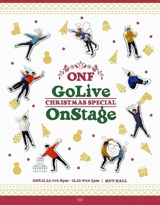 ONF将于24日& 25日举行圣诞公演 准备与歌迷近距离交流的特别舞台