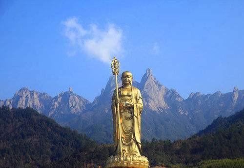 秋游安徽九华山