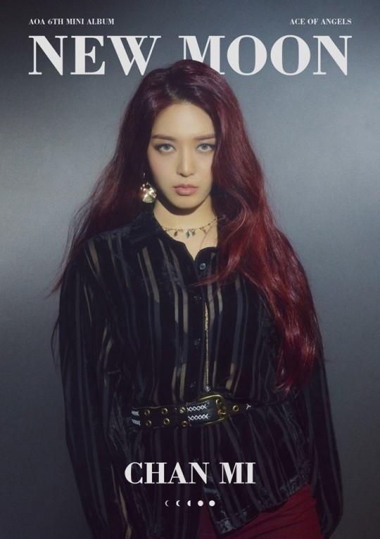 kara韩胜妍_AOA金澯美公开第6张迷你专辑《NEW MOON》复出个人预告MV形象_即时尚
