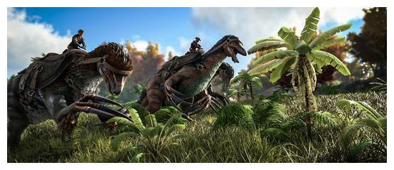 这些游戏的生存环境极恶劣,《方舟生存进化》让你与龙共舞
