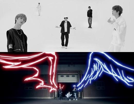 TXT后续曲《Angel Or Devil》MV公开 在天使和恶魔之间穿梭的时尚