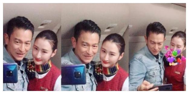 空姐飞机上偶遇刘德华请求合影,想不到天王给他带来意外惊喜