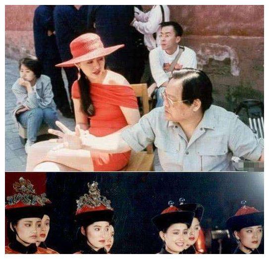 王祖贤30年前故宫旧照流出,身后不起眼的群演,如今成当红巨星