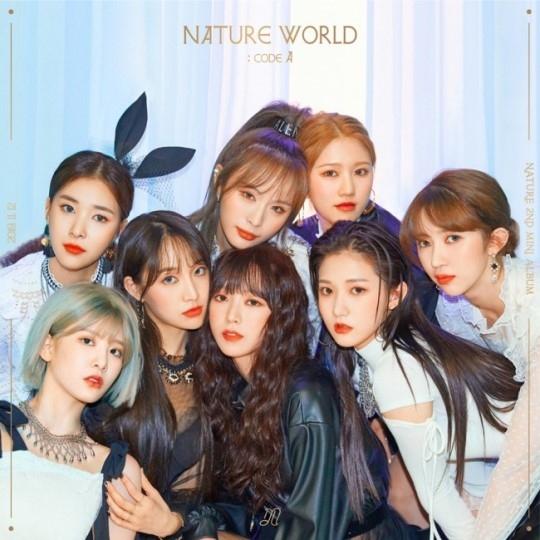 NATURE公开第二张迷你专辑《NATURE WORLD: CODE A》曲目列表及团体预告图片