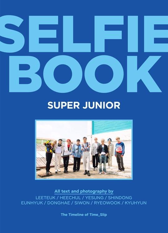 SUPER JUNIOR将发售收录《time_slip》专辑回归过程纪录的写真集《SELFIE BOOK》
