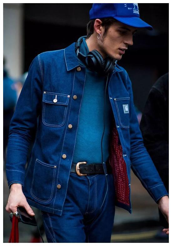 上游时尚|工装风盛行,潮流达人都喜欢穿Chore Coat