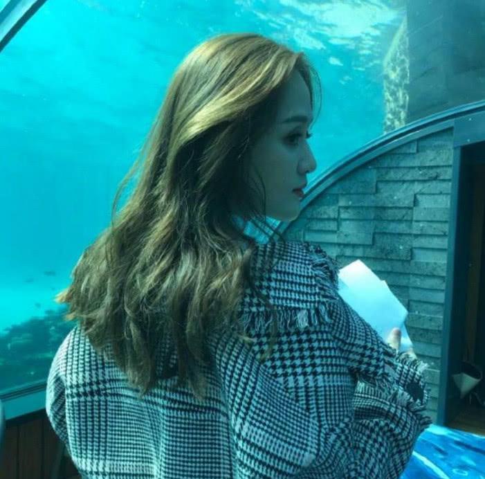 """不老女神陈乔恩晒新照,海底世界宛如一条童话中走出的""""美人鱼"""""""