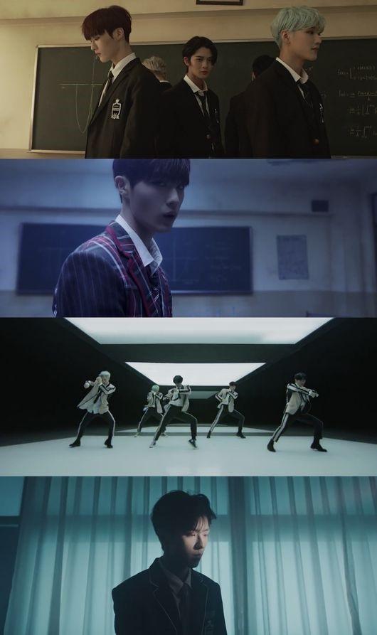 CIX公开新曲《Numb》MV 以学校的教室和废墟为舞台 表现出强烈的眼神
