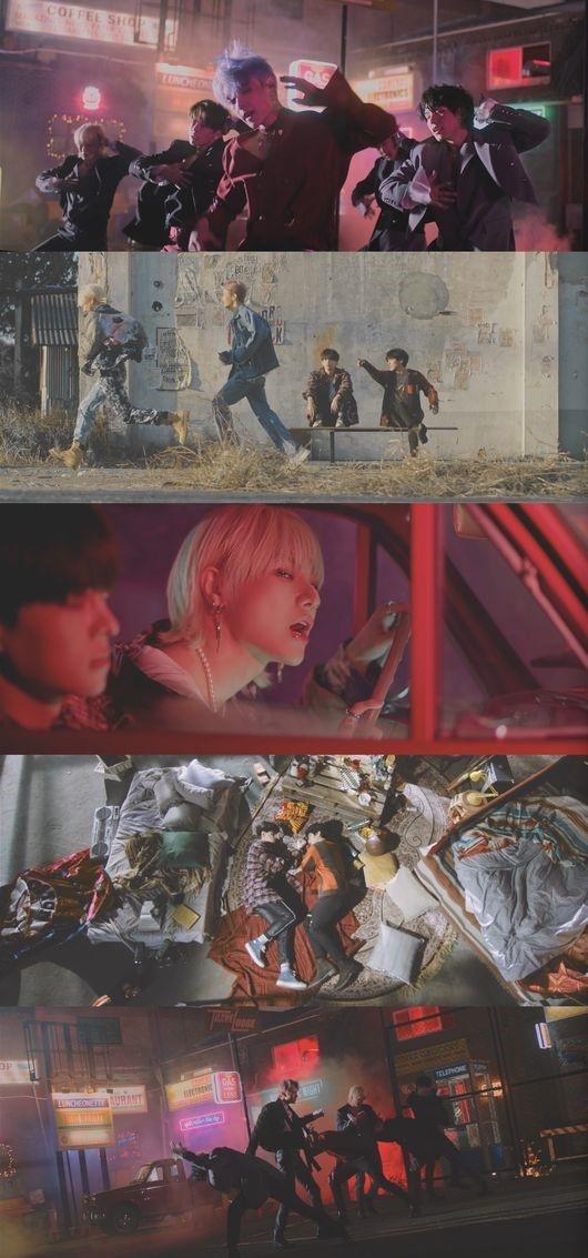 VICTON公开新曲《nostalgic night》MV 充满感性的强有力的表演引人注目