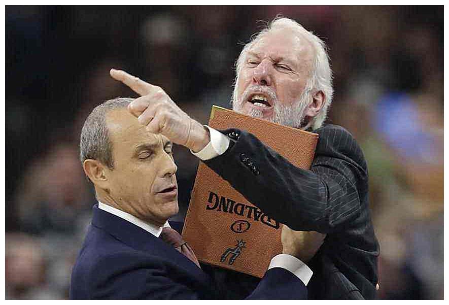 有种放学别走!NBA巨星赛场上暴怒瞬间,科比最霸气,库里最萌