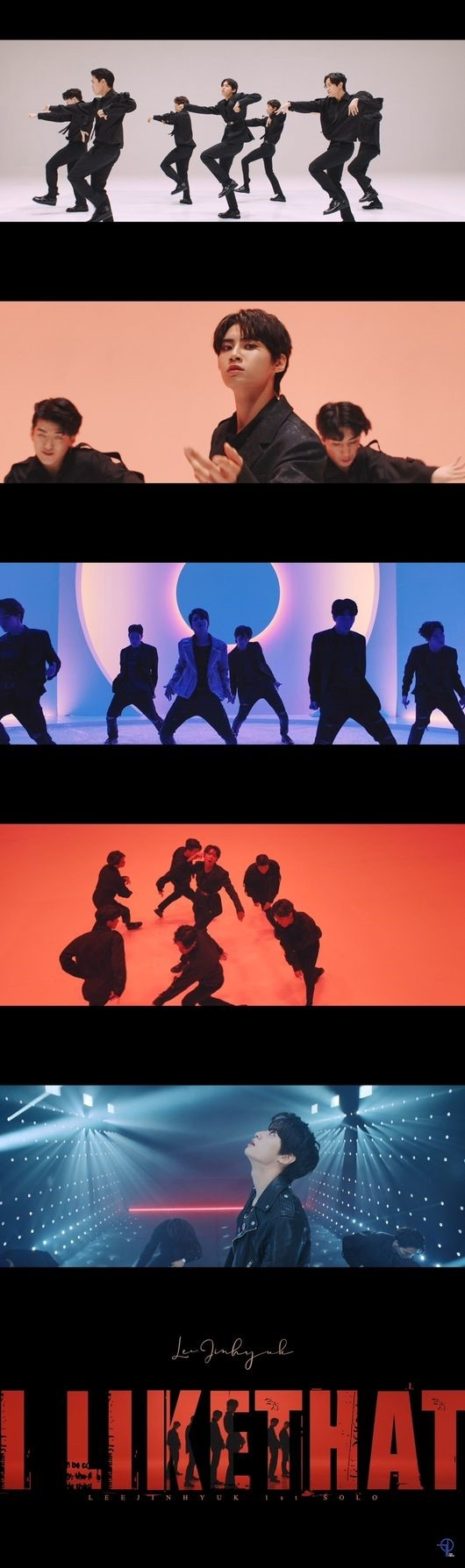 UP10TION李镇赫公开主打歌《I Like That》演出版本MV