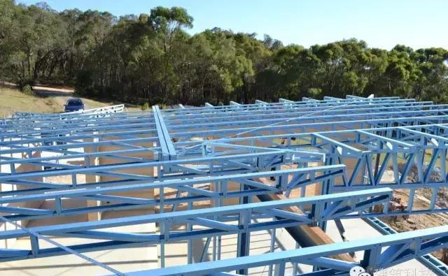 看看澳大利亚的轻钢别墅是怎样建造的?