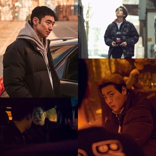李帝勋、安宰弘、崔宇植、朴正民、朴海秀电影《狩猎的时间》公开剧照