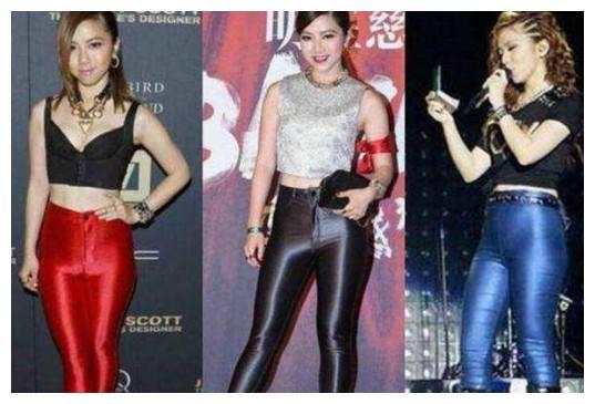 皮裤girl!邓紫棋的皮裤史,看看你最喜欢紫棋的哪一条