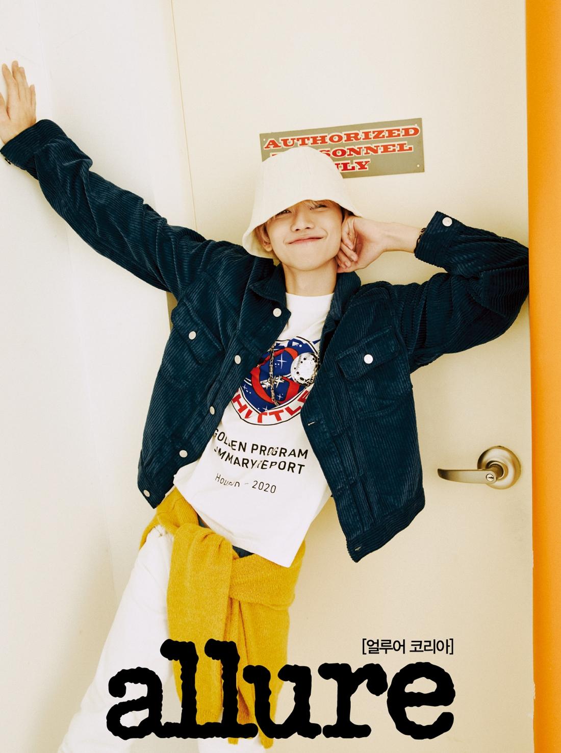 NCT DREAM渽民变身摄影师,《Allure Korea》三月号画报公开