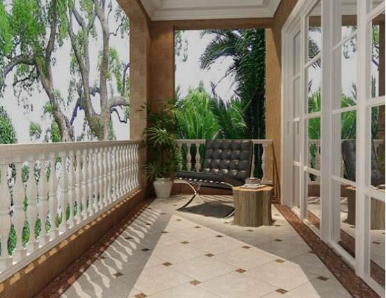阳台不要铺瓷砖了,如今都潮流这样装,看完真想回家重装