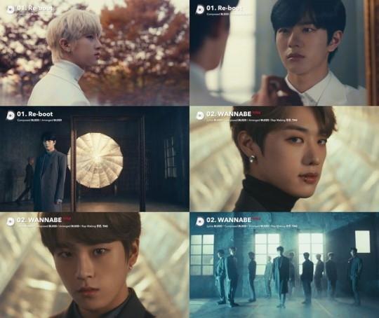 Golden Child公开1st完整专辑《Re-boot》收录曲的MV主打歌是《WANNABE》