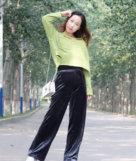 衛衣搭配闊腿褲也很好看!衛衣減齡闊腿褲顯瘦,每個人都能穿