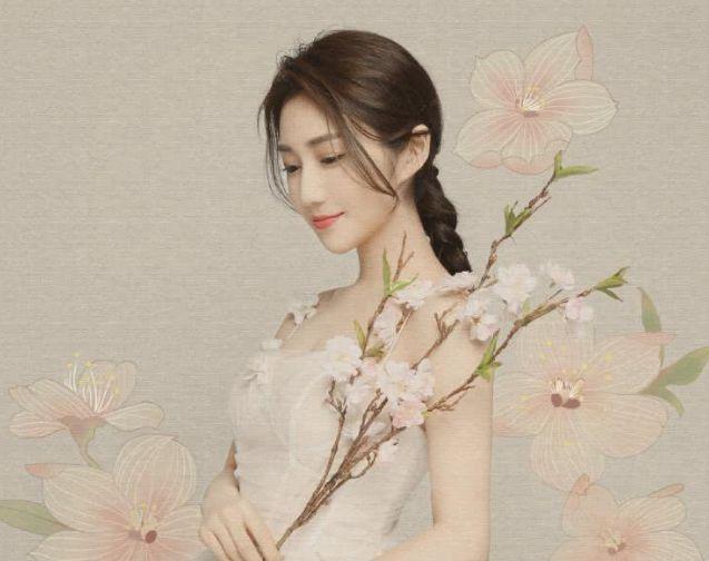 """LPL""""女主持""""成婚,被称为""""小范冰冰"""",穿上婚纱太美了!"""
