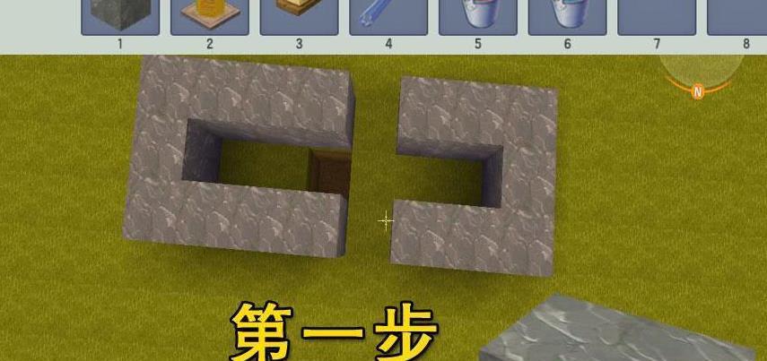 """迷你世界还能玩俄罗斯方块?玩家灵机一动,在游戏里自制""""游戏"""""""