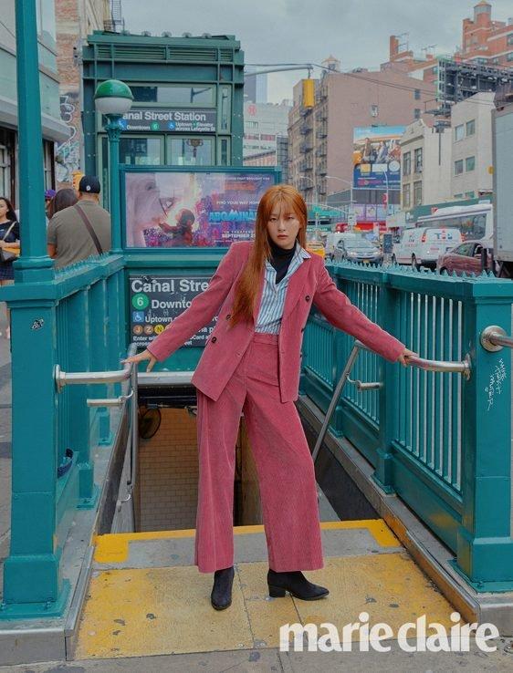 Red Velvet姜涩琪&孙胜完公开洗练风格的秋冬写真