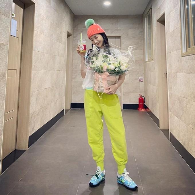 女演员朴敏英感动中国粉丝的爱 天气好的话我会去找你