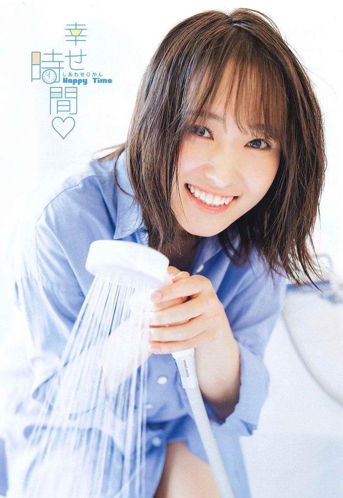 榉坂46菅井友香纯真表情配上抖淋浴&起床的场景写真