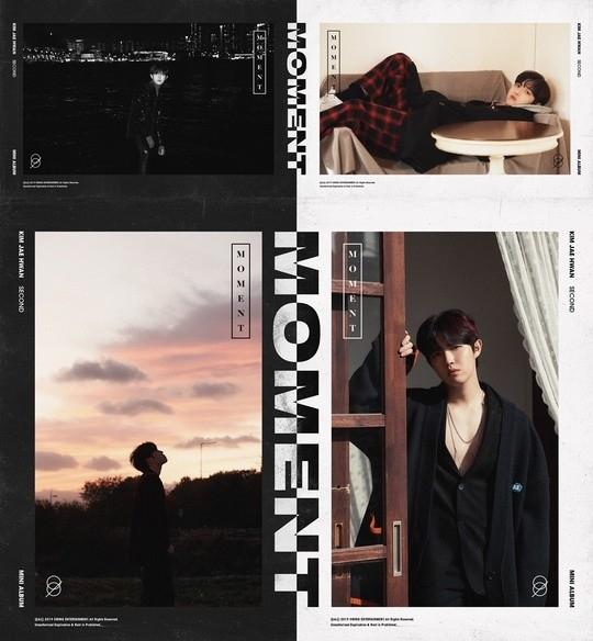 金在奂公开迷你专辑《MOMENT》预告图片